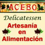 logotipo acebo delicatessen