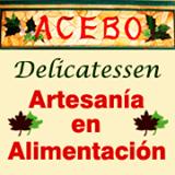 logotipo acebo delicatessen