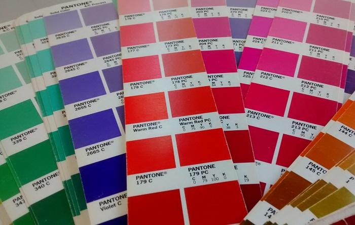 colores en tu web pantone