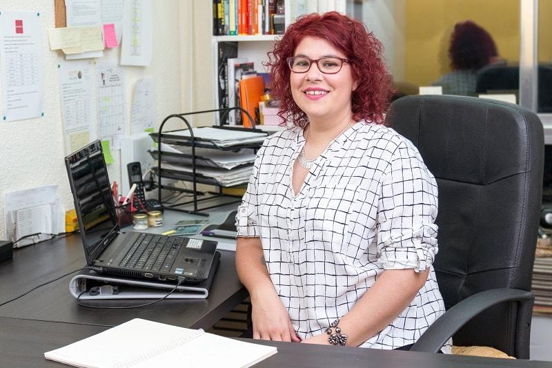 Laura Fernández, En Enzimática formamos todo tipo de profesionales en técnicas para concertar reuniones de venta con sus potenciales clientes.