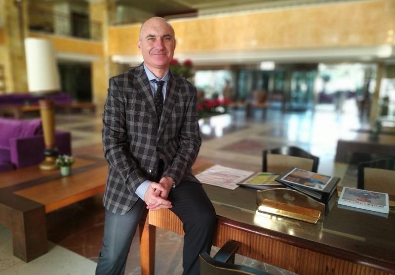 Presidente del CITE de Estepona, Miguel Escarcena