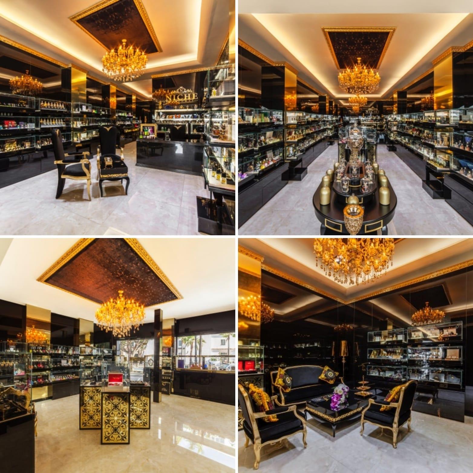 Niche Perfumes cree en Sevilla con su segunda tienda en el hotel Alfonso XIII