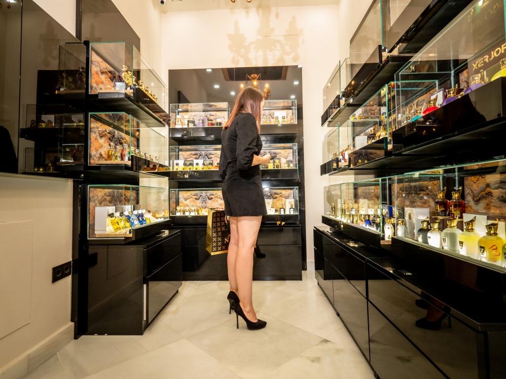 Boutique de lujo Niche Perfumes en Sevilla